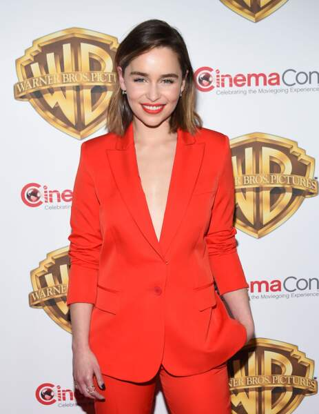 Un carré naturel comme Emilia Clarke