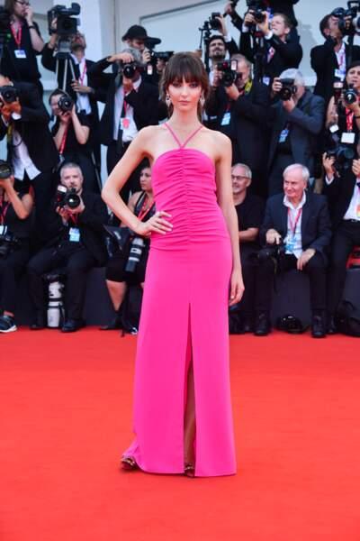 Annabelle Belmondo s'est rapidement fait un prénom sur les tapis rouges italiens