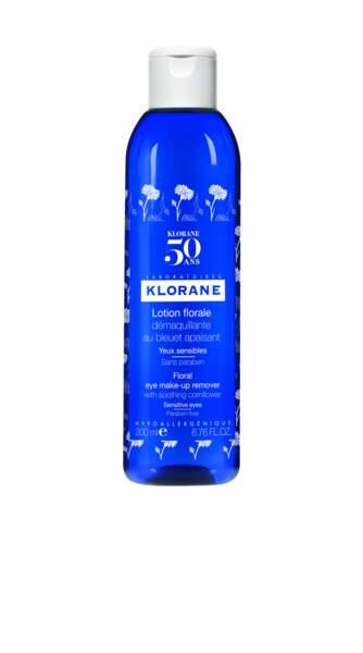 la lotion au bleuet, le flacon collector pour les 50 ans