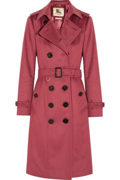 Trench-coat en cachemire brossé, Burberry London - 1995€