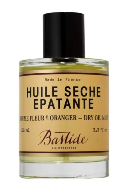Huile Sèche Epatante, Bastide en Provence, 48 €, batiste.com