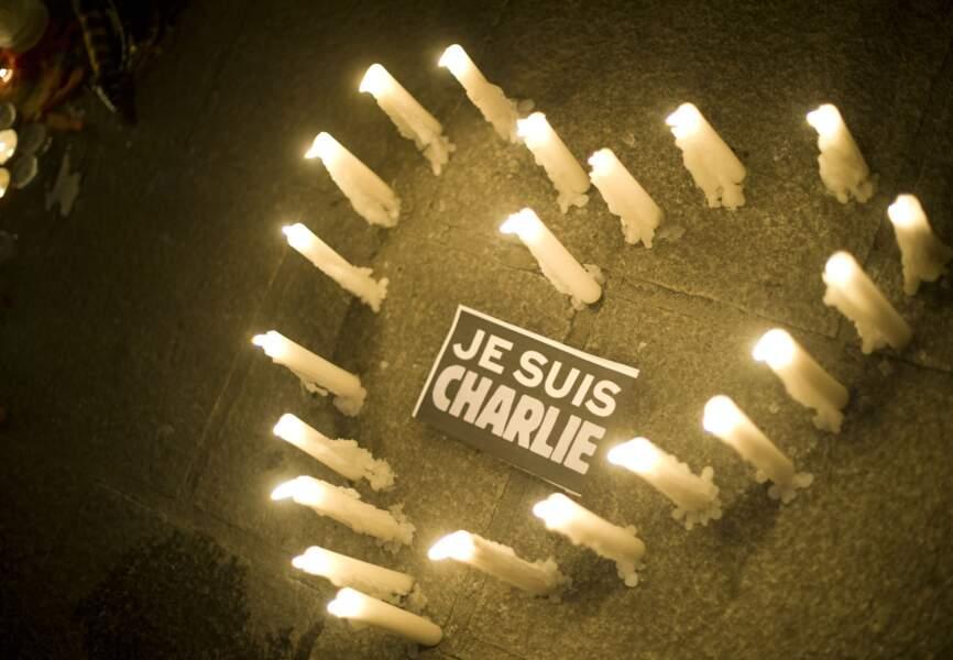Soutien à Charlie Hebdo à Marseille