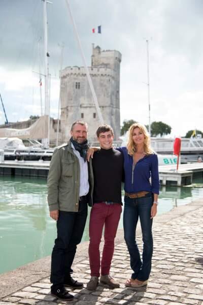 """La Rochelle: 2017 TV Fiction Festival, Photocall, """"Demain nous appartient"""""""