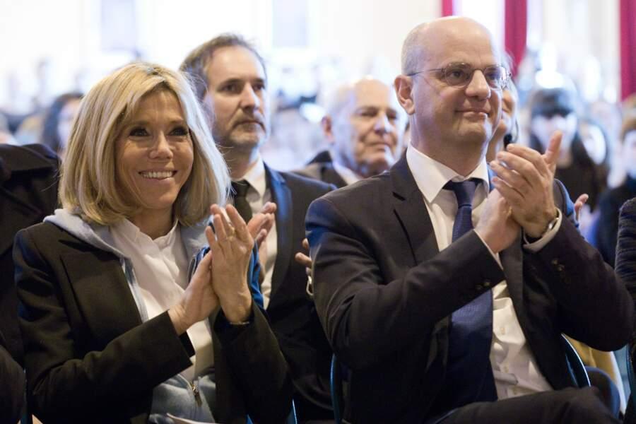 Brigitte Macron au lycée