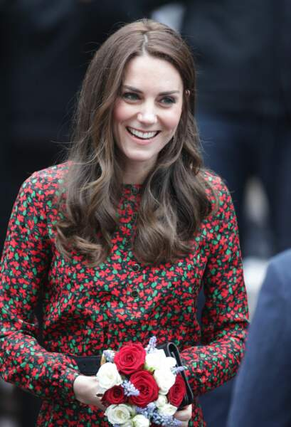 Kate en visite royale à Londres