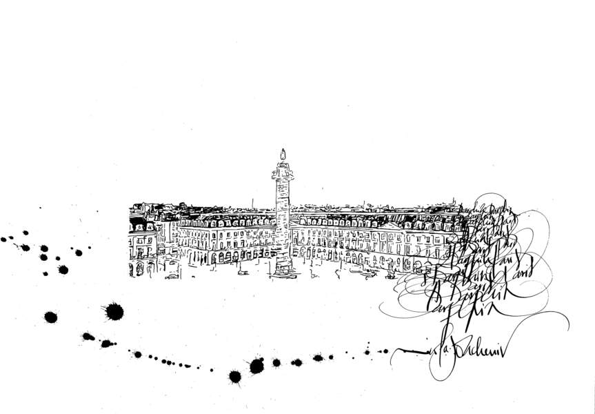 La Place Vendôme, Nicolas Ouchenir pour Darphin