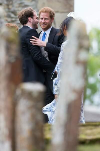 Le prince Harry a rejoint d'autres cousins...