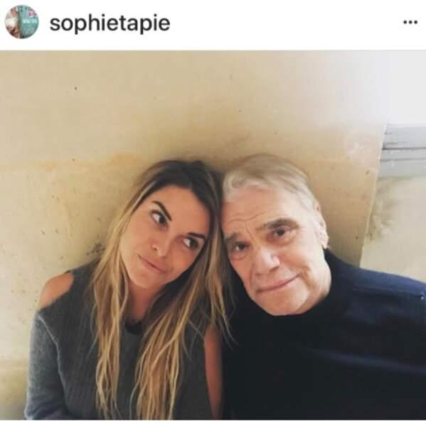 Bernard Tapie et sa fille, Sophie