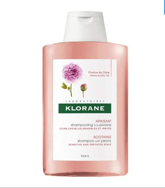 Shampoing à la pivoine, Klorane, 4,99 € powersante.com