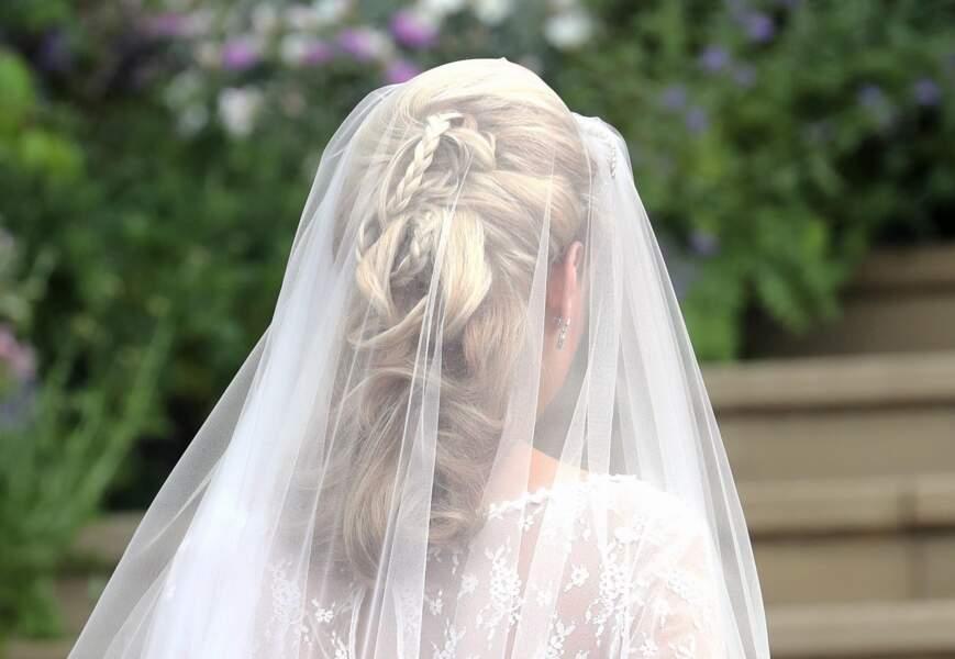 L'extraordinaire coiffure tressée de Gabriella Windsor