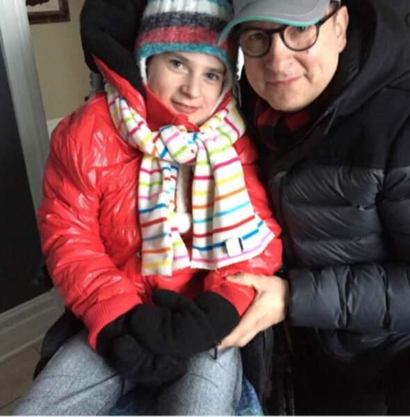 Jean-Marc Généreux et Francesca sa fille
