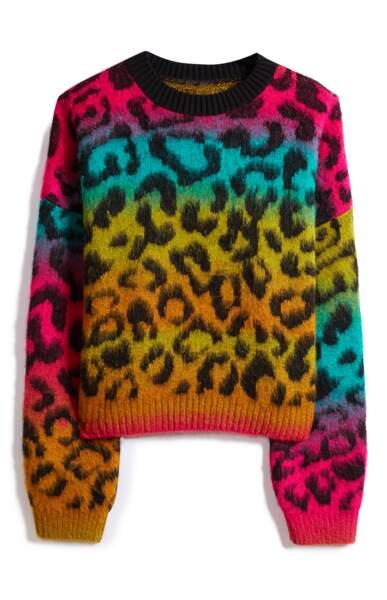 Soft pull motif panthère, 18 € (Primark).