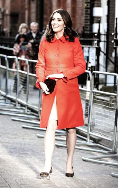 Kate Middleton devrait accoucher au mois d'avril