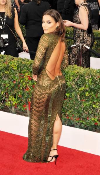 La chute de reins sexy d'Eva Longoria