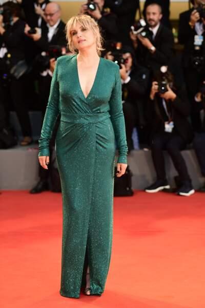 Emmanuelle Seigner (52 ans), lors du festival de Venise, en 2018