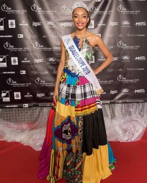 Ophély Mézino, 19 ans, a été sacrée Miss Guadeloupe et tentera de devenir Miss France 2019