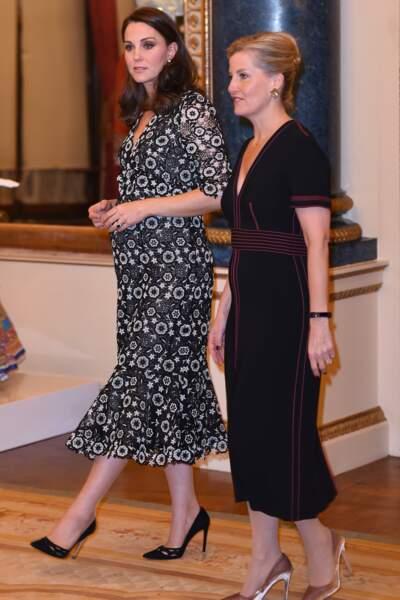 Kate Middleton au palais de Buckingham