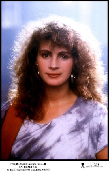 """En 1988, elle obtient son premier grand rôle dans le film """"Satisfaction"""""""