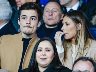 PHOTOS - Camille Cerf et son chéri complices et câlins pour un match de foot