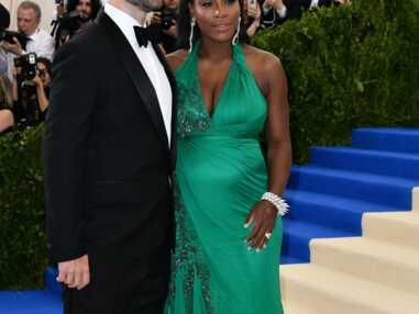 Look - Serena Williams enceinte sur le tapis rouge du Met Ball