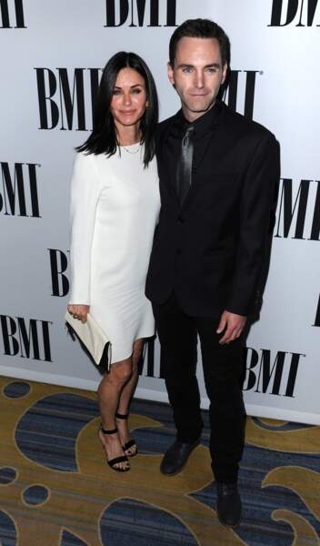 Courtney Cox et Johnny McDaid, 13 ans d'écart