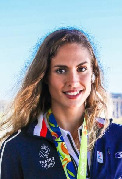 la vice-championne olympique de penthatlon Elodie Clouvel
