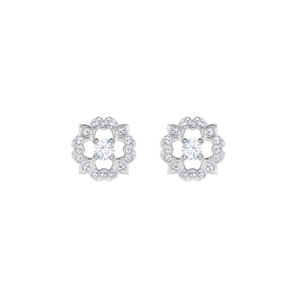 Porte-bonheur, boucles d'oreilles Swarovski, 69 € (swarovski.com)