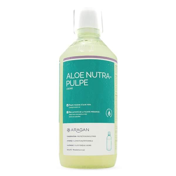 Aloe Nutra Pulpe, Aragan, 18,20 €, en pharmacies et parapharmacies