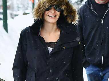 Angelina Jolie et ses enfants passent le Nouvel an au ski