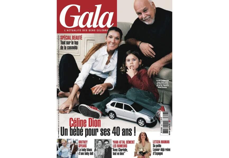 Céline Dion un bébé pour ses 40 ans !