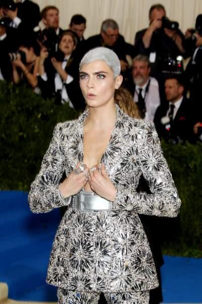 Une tenue de plus à épingler dans la liste des looks les plus extravagants vus au Met Ball !
