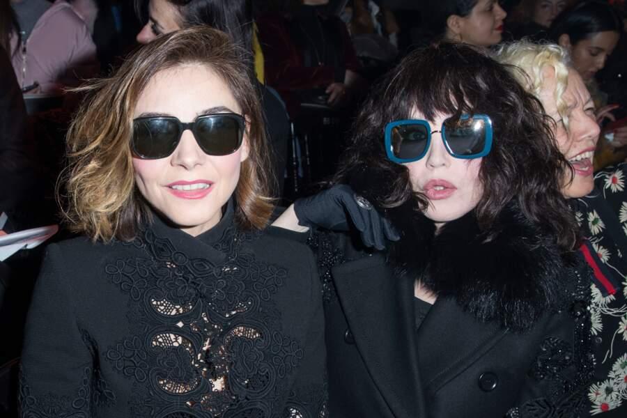 Isabelle Adjani et Clotilde Courau réunies chez Elie Saab