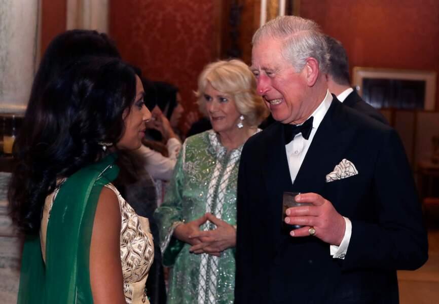 Camilla Parker Bowles, accompagnée par le prince Charles, avait déjà étonné par le choix de cette tenue