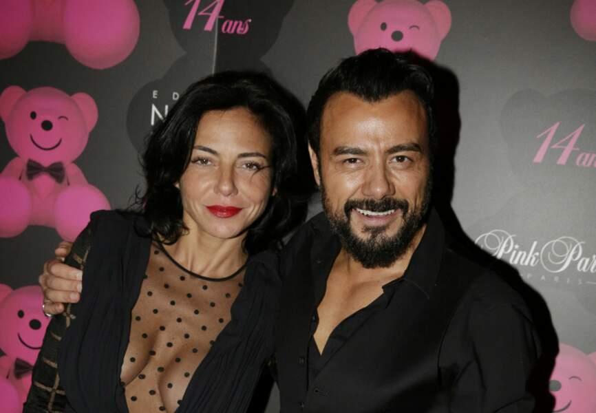 Sandra Zeitoun de Matteis (agence Sandra and Co) et Muratt Atik (propriétaire du Pink Paradise)