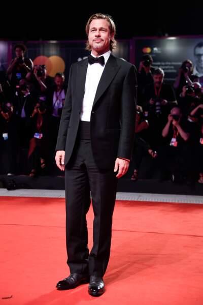 """Brad Pitt, plus sexy que jamais le 29 août 2019 à la première du film """"Ad Astra"""" lors 76ème Mostra de venise"""