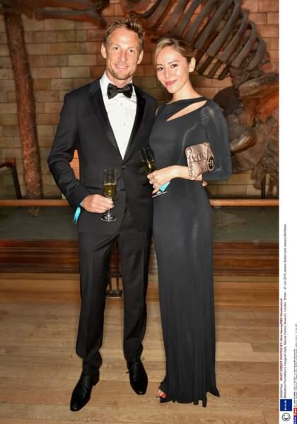 1 an pour Jenson Button et Jessica Michibata