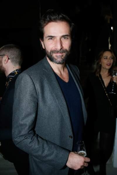 l'acteur Gregory Fitoussi lors de la soirée Yves Saint Laurent