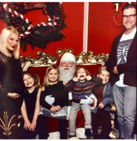 Torie Spelling et sa grande famille