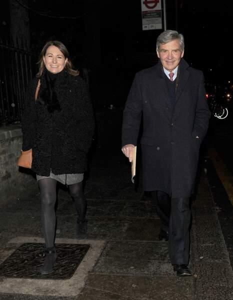 Après son interview accordée au Telegraph, l'arrivée de Carole Middleton n'est pas passée inaperçue