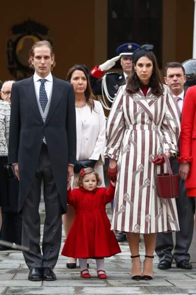 Andréa Casiraghi et Tatiana Santo Domingo sont parents pour la troisième fois !