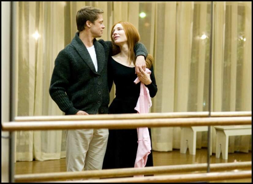 Brad Pitt dans L'étrange histoire de Benjamin Button (2008)