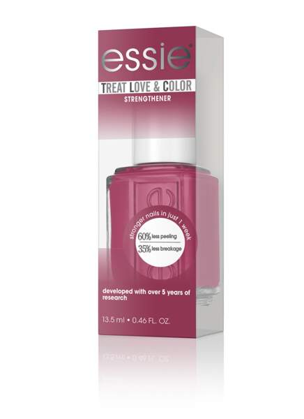 Soin coloré « Treat Love and Color » Essie, embellisseur et fortifiant, 12,90€