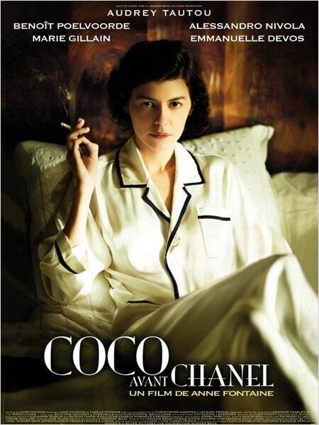 Coco avant Chanel, de Anne Fontaine est sorti en 2009