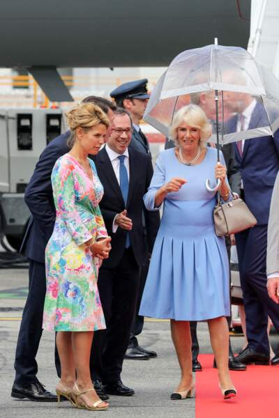 Laura Tenoudji et Christian Estrosi ont accueilli le prince Charles et Camilla, en visite à Nice