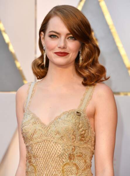 Le roux pin up comme Emma Stone