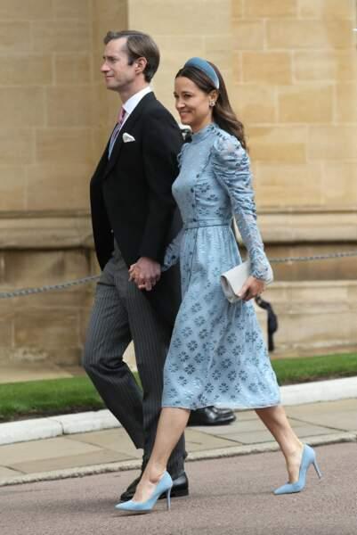 Pippa Middleton et James Matthews ont fait sensation à leur arrivée au mariage de Gabriella Windsor, le 18 mai 2019