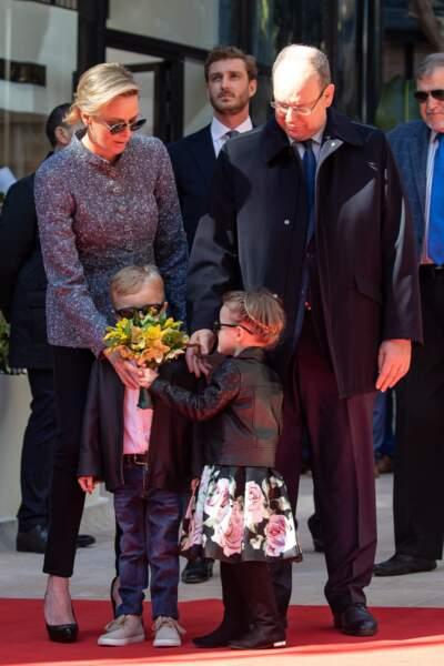 Ce 22 février, Charlène découvrait aussi une artère à son nom : la promenade Princesse Charlène