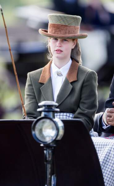 Lady Louise Windsor, 13 ans, lors du Windsor Horse Show le 14 mai 2017