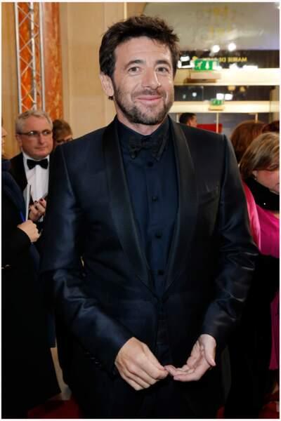 Patrick Bruel lors de la cérémonie des César au théâtre du Châtelet à Paris en 2013