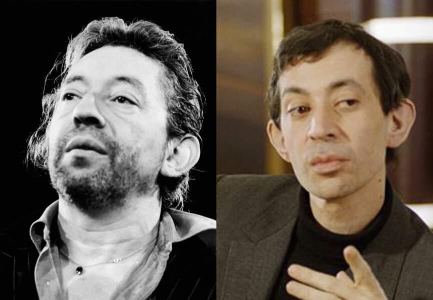 Eric Elmosnino a la même gueule cassée que Serge Gainsbourg